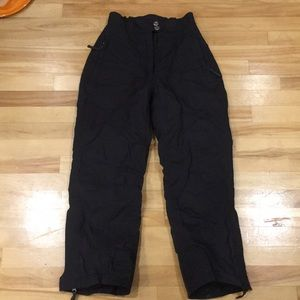 Nordica ski pants, black. Womens xs/s